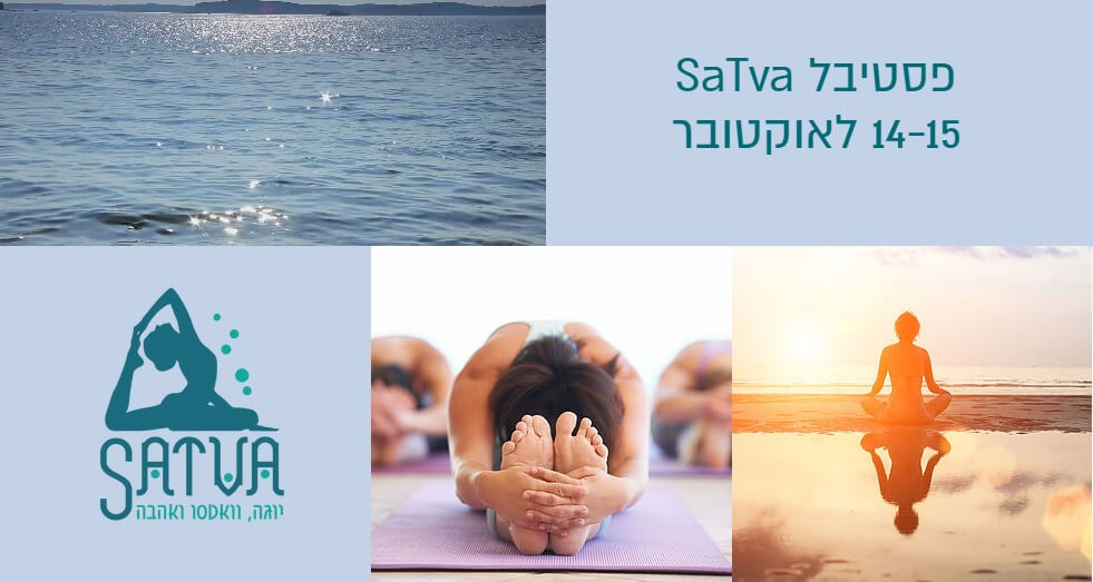 Eddy Toyonaga teaching yoga at the Satva festival