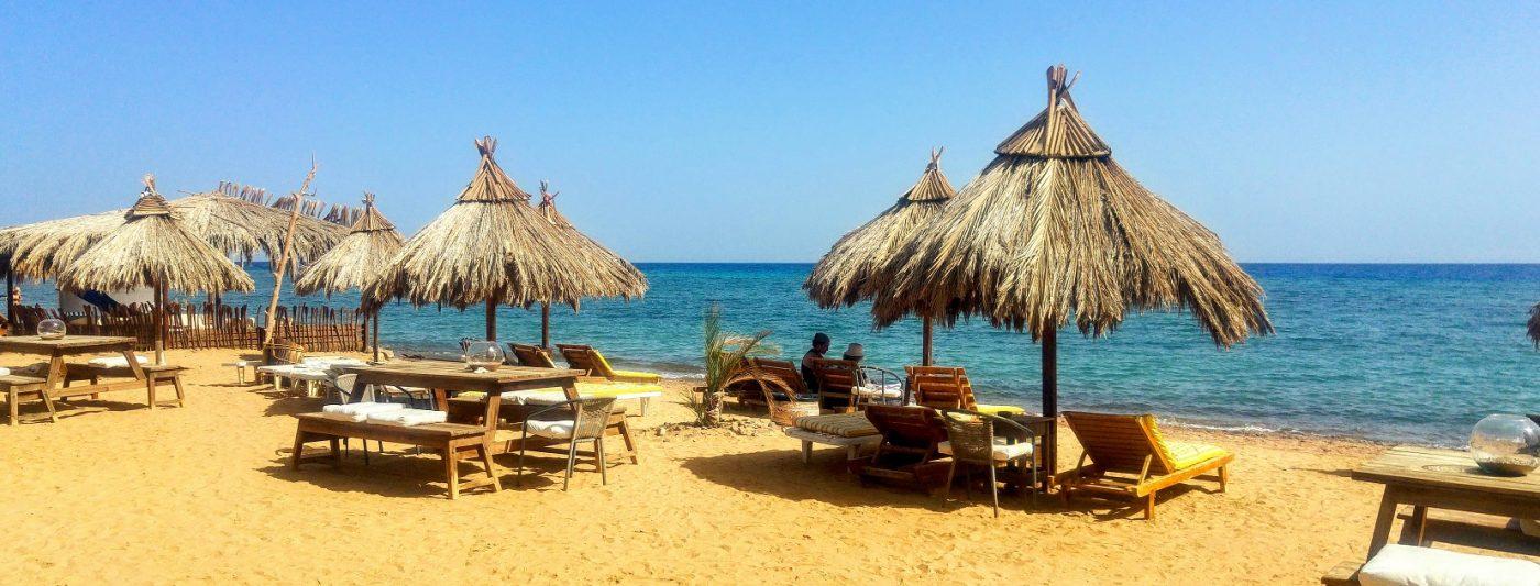 Sinai beach in Nuweiba Sinai