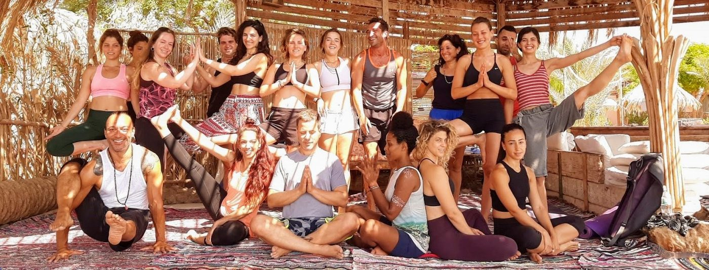 Sinai yoga retreat with Eddy Toyonaga